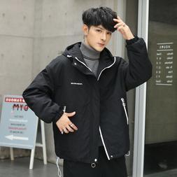 Hot Sale Mens Hooded Jackets Parka Winter Warm Outwear Coats