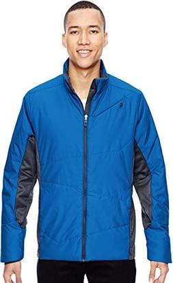 North End Mens Immerge Insulated Hybrid Jacket with Heat Ref