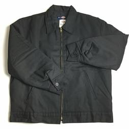 Dickies Men's Big-Tall Insulated Eisenhower Jacket, Black, X