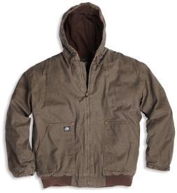 Key Apparel Men's Premium Insulated Fleece Lined Hooded Duck