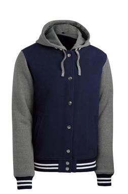 Sport-Tek Insulated Letterman Jacket + A Pair Of Wristbands,