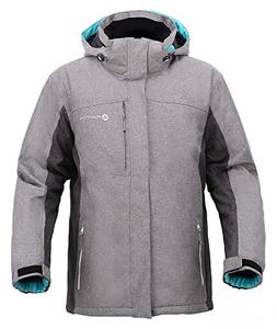 Andorra Men's Performance Insulated Ski Jacket with Zip-Off