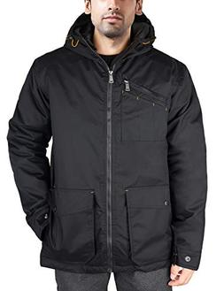 HARD LAND Men's Winter Work Jacket Rain Coat Waterproof Insu