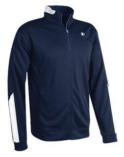 Champion Intent Knit Men's Track Jacket, M-Navy/White