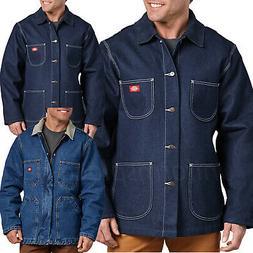 Dickies Jacket Mens Denim Blanket Lined or Zip Front Chore C