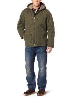 Carhartt Men's Big & Tall Jackson Coat Sherpa Lined Sandston