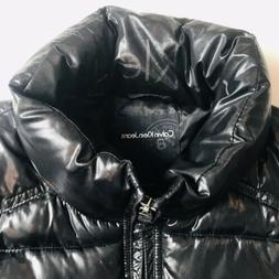 Calvin Klein Jeans, Mens Black Ski Jacket, size L