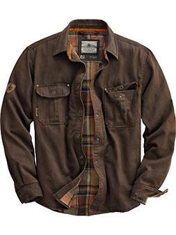 Legendary Whitetails Men's Journeyman Rugged Shirt Jacket To