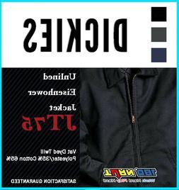 DICKIES JT75 Men's Unlined Eisenhower Jacket Industrial Work