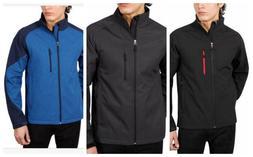 Kirkland Mens Soft shell Jacket Windbreaker Breathable Blk,G