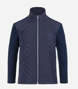 Kjus Men's Linard Midlayer Jacket-Navy-NWT-Medium-Retails fo