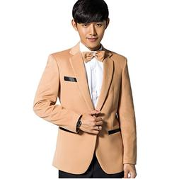 MYS Men's Korean Style Colorful Party Tuxedo Suit and Pants