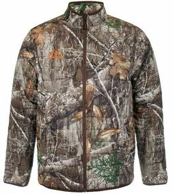 ! LG 2X 3X Men's Water Repellent RealTree EDGE Insulated Jac