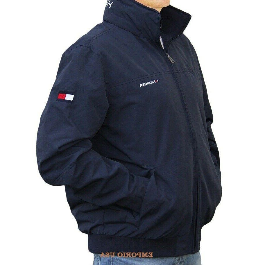 TOMMY HILFIGER Men's Yacht Jacket Water Stop Windbreaker