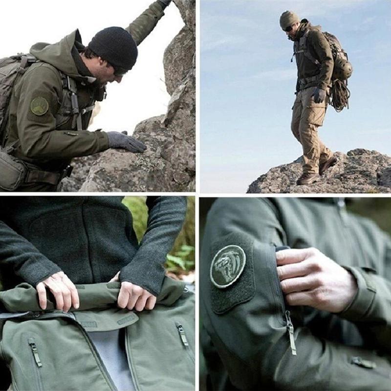 2018 TAD Skin Military Tactical Softshell Waterproof Army Windbreaker