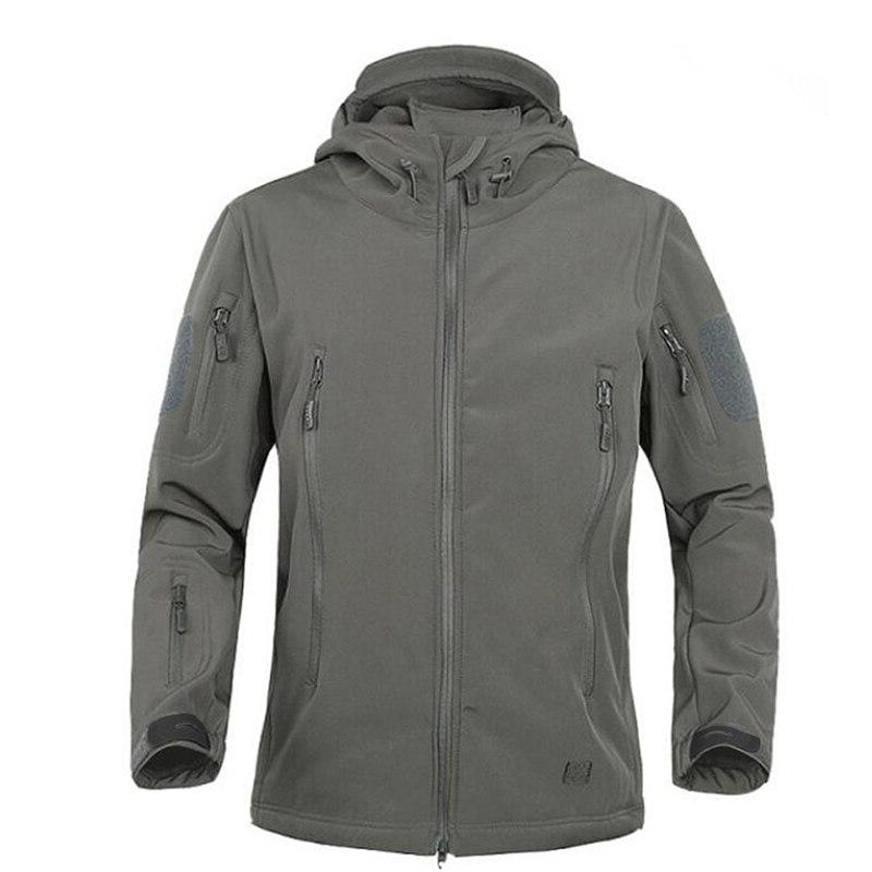 2018 TAD Winter Skin Windproof Tactical Softshell Waterproof Army