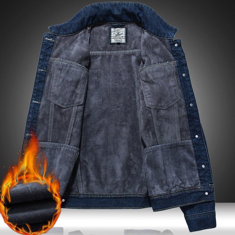 New jeans <font><b>Jacket</b></font> Thick Coat Plus Wild Youthful size