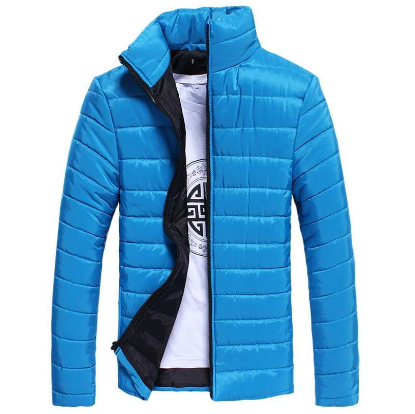 2019 New <font><b>Mens</b></font> Ultralight <font><b>Jacket</b></font> Winter White <font><b>Down</b></font> Windbreaker Overcoat Warm Parka Male