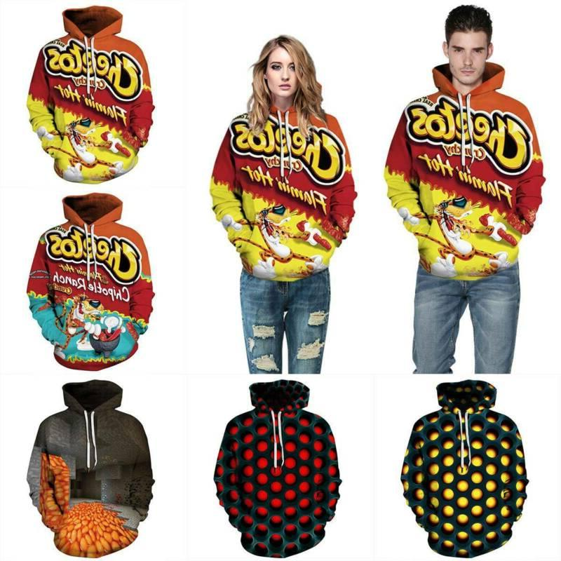 3D Cartoon Unisex Jackets