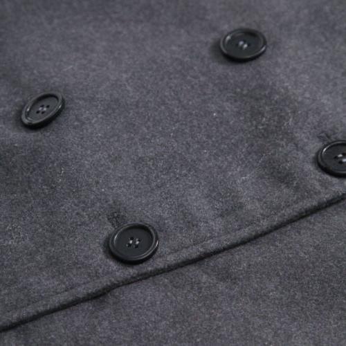 Mens Long Overcoat Jacket Winter