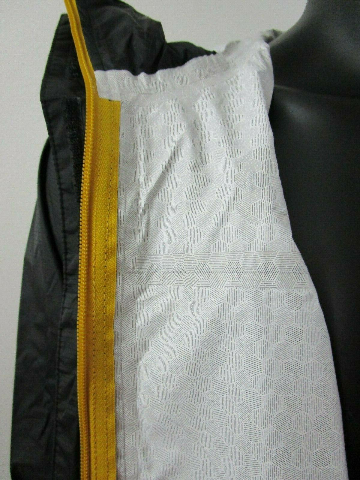 Mens TNF North Face Dryvent Hooded Rain Jacket Black