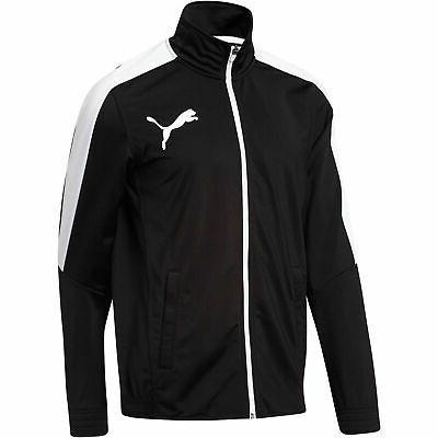 PUMA Contrast Track Jacket Men Track Jacket Basics