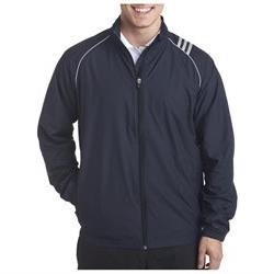 A169 Adidas Coat Casual 3-Stripes Full-Zip Men's