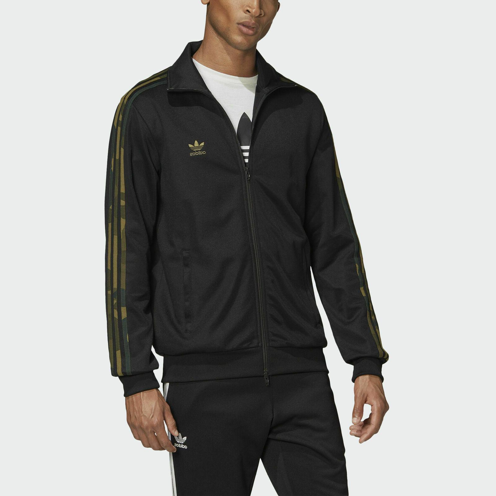 adidas originals camouflage jacket full zip men