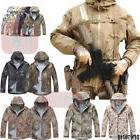 Airsoft Men's Military Tactical Jacket HardShell Hoodie Wate