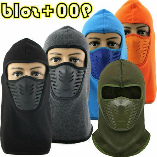 Balaclava Ski Mask Winter Fleece Windproof Cap for Skiing Sn