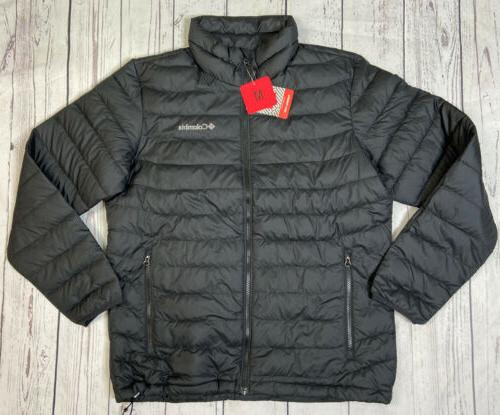 black thermal coil jacket mens size m