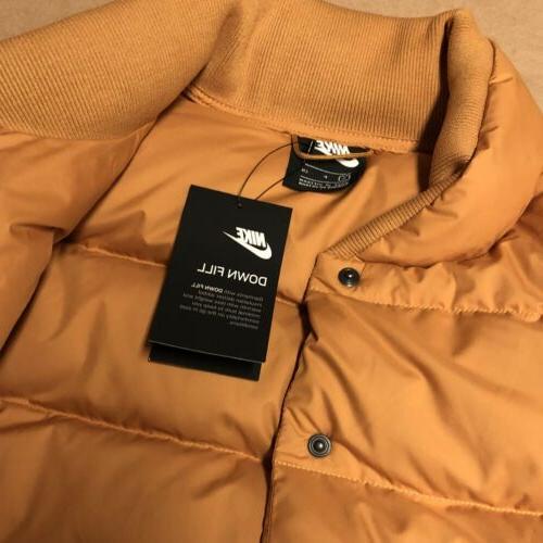Brand New Down Fill Bomber Jacket
