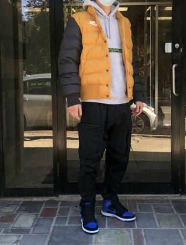 Brand Nike Fill Botton Bomber Jacket Size