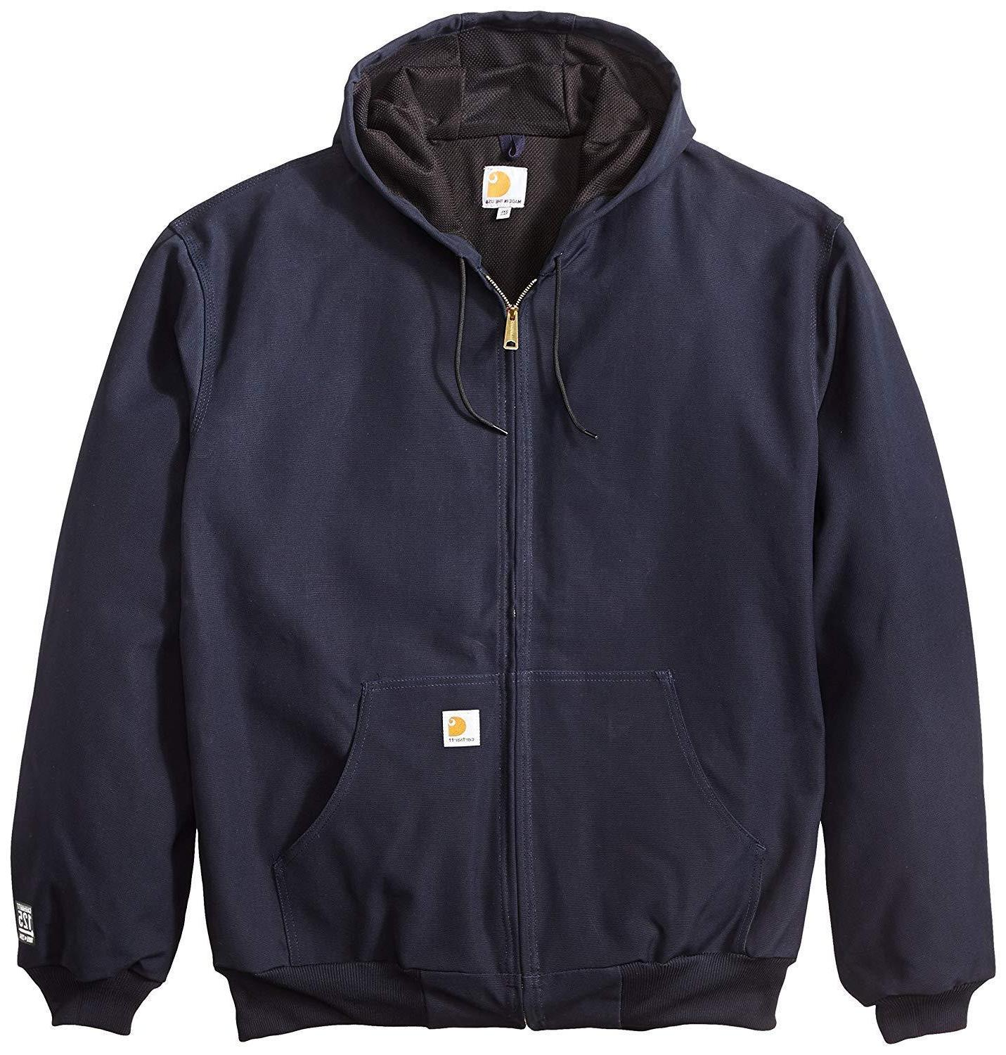 Carhartt Big Tall Duck Hoodie Jacket