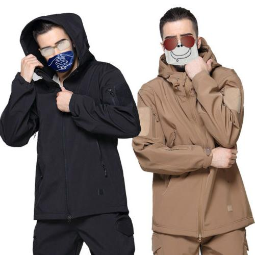 HOT Sale COMBAT Waterproof Tactical Shell Jacket Coat Windbreaker