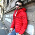 NEW Fashion Men's Boy Duck Down Feather Ultralight Jacket Ho