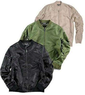 elwood nylon zip jacket mens