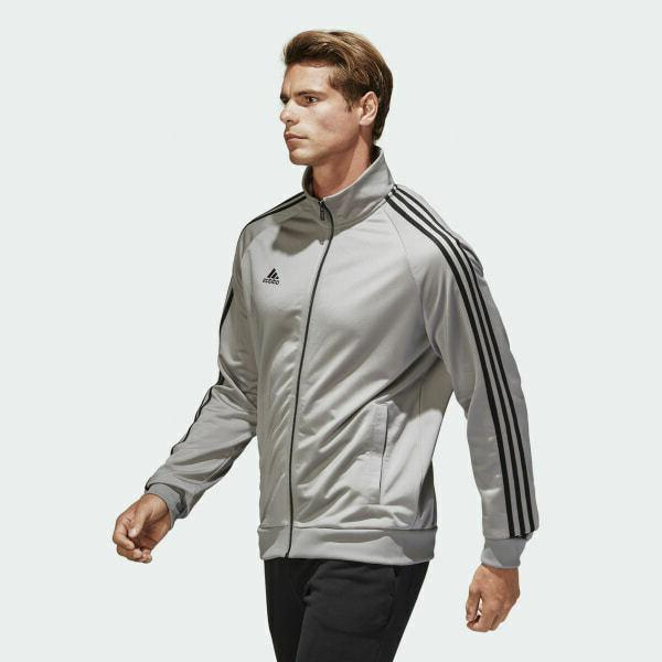 Adidas Jacket Top Tricot Solid Black Men