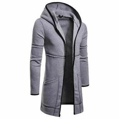 Fashion Wool Coat Winter Trench Overcoat Sleeve Jacket