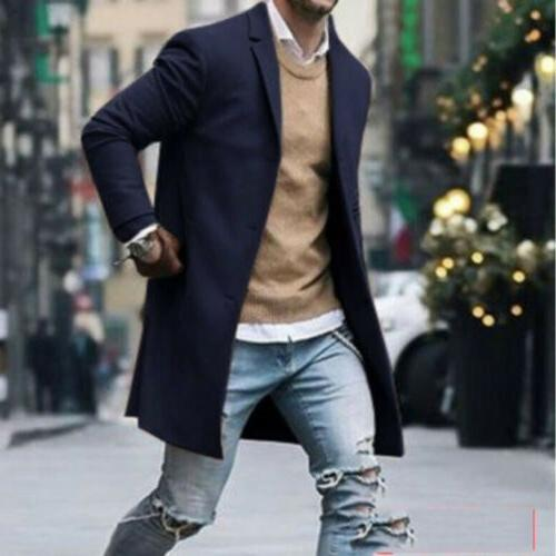 Fashion Wool Overcoat