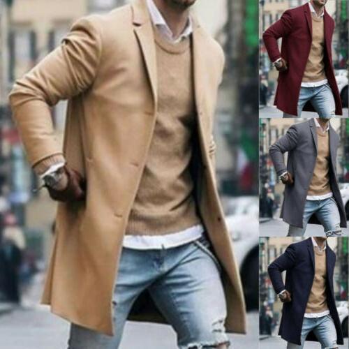 Fashion Mens Coat Winter Overcoat