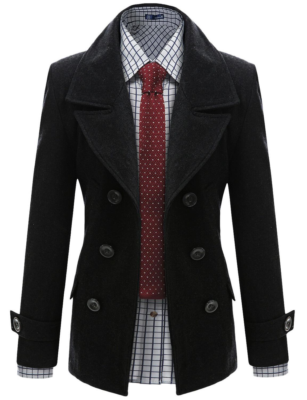 Doublju Casual Wool