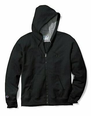 Champion Fleece Jacket Mens Powerblend Sweatshirt Full Zip H