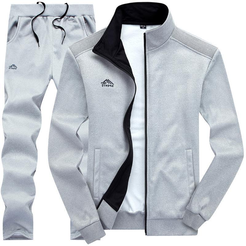 Tracksuits <font><b>Men</b></font> Sporting Fleece 2019 Spring Pants Casual Sportswear Fitness