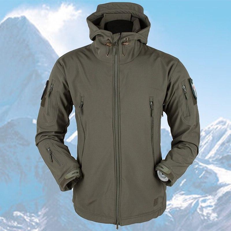 <font><b>Men</b></font> Outdoor Waterproof SoftShell <font><b>Jacket</b></font> Waterproof Warm Windbreaker Rain <font><b>Jacket</b></font>
