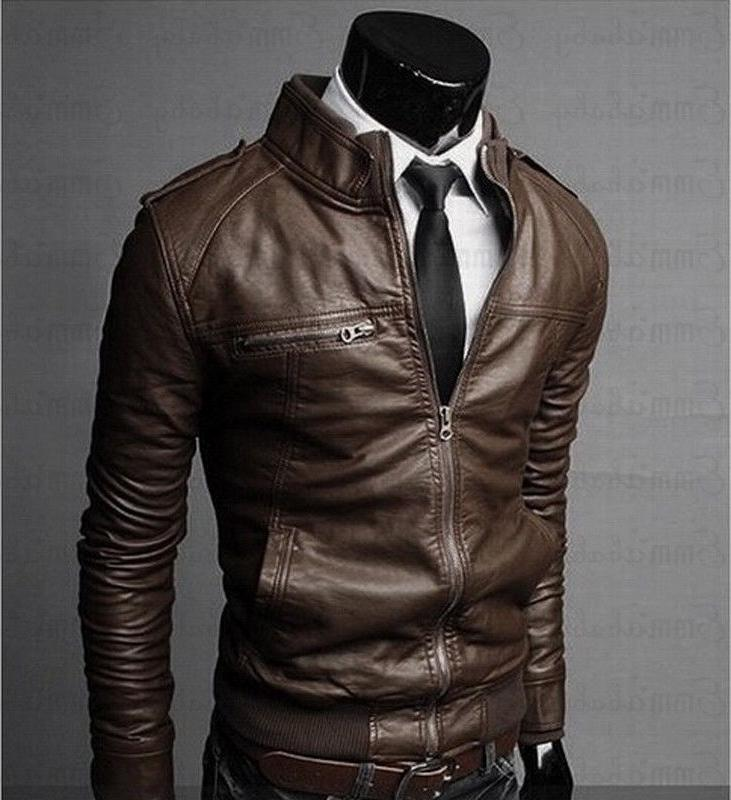 <font><b>Mens</b></font> Leather <font><b>Jackets</b></font> <font><b>Jacket</b></font> High Classic Motorcycle Male Plus Thick Coats M-3XL