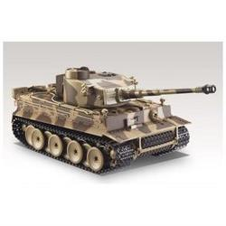 German Tiger I Battle Tank RC 1:24 Airsoft Metal Cannon Mode