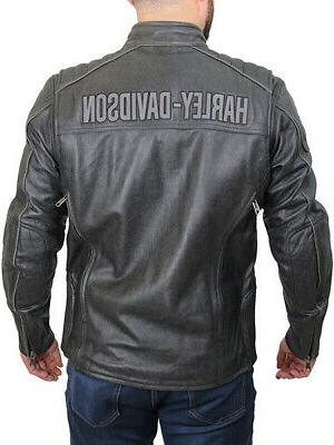 harley davidson mens midway distressed charcoal leather