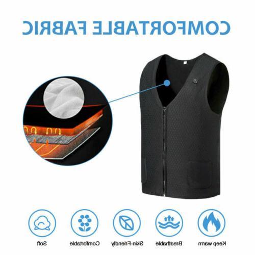 Heated Warm USB Men Heating Thermal