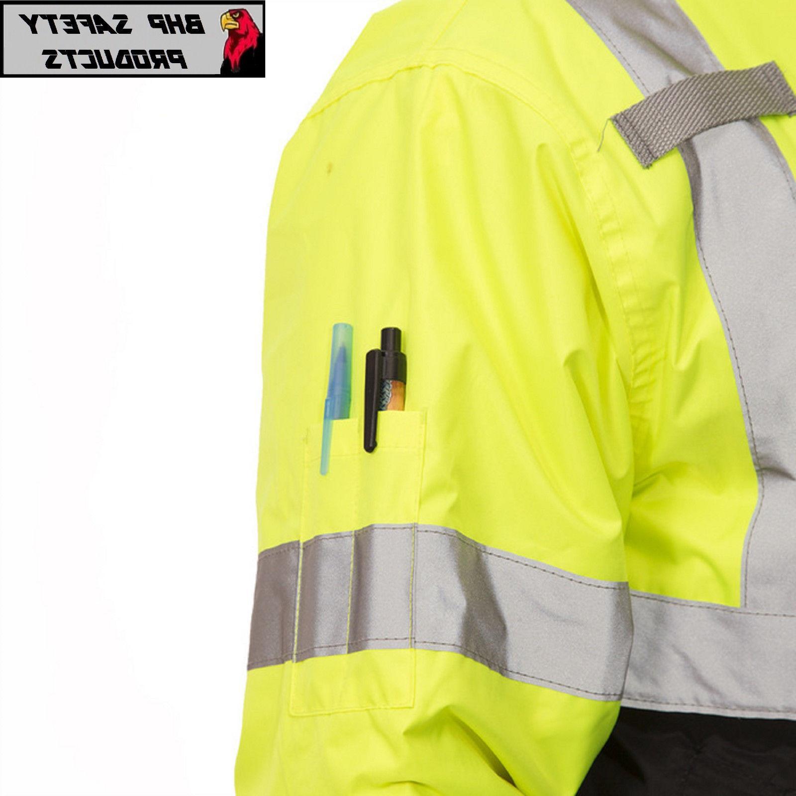 Hi-Vis Insulated Reflective Jacket